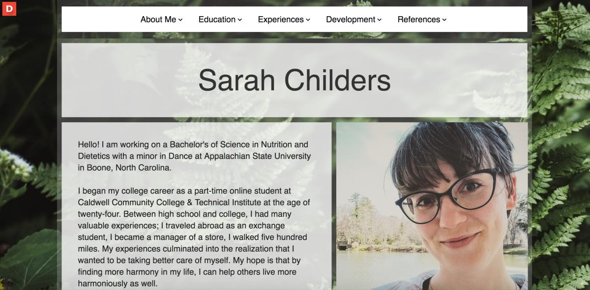 Sarah Childers Eportfolio