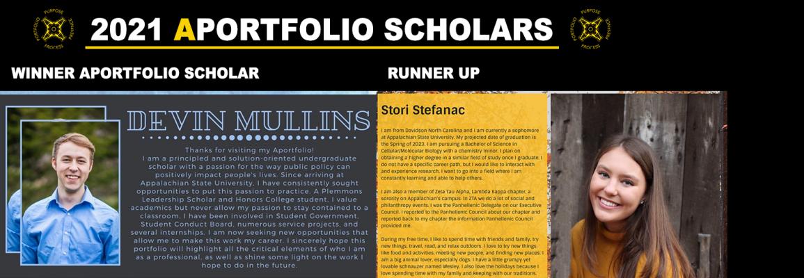Aportfolio Scholars